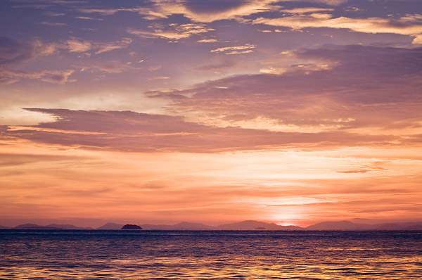 Sunset, Koh Phi Phi