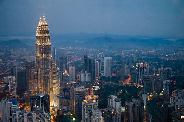 Twin Petronas Towers, Kuala Lumpur