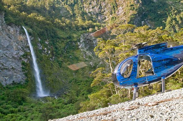 Fiordland Helicopters Photoshoot