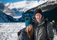 Anne Marie and Daniel at Lake Louise