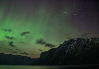 Northern Lights over Banff National Park