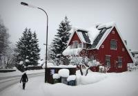 Exploring town, Lillehammer