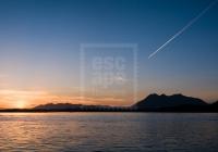Sunset over the Tofino coast