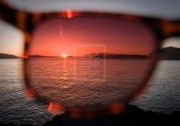 Sunset and sunglasses, Tofino