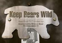Bear Proof Bin at Lynn Canyon