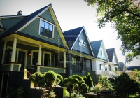 Quaint suburban streets of Vancouver