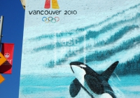 Vancouver 2010 Winter Olympics wall art