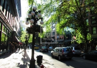 Streets of Gastown, Vancouver