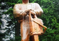 Woodcarving, Grouse Mountain
