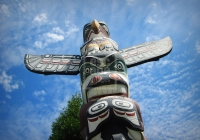 Totem Pole at Vancouver Museum of Anthropology