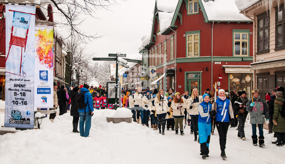 Lillehammer Winter Olympics 20th Anniversary Parade