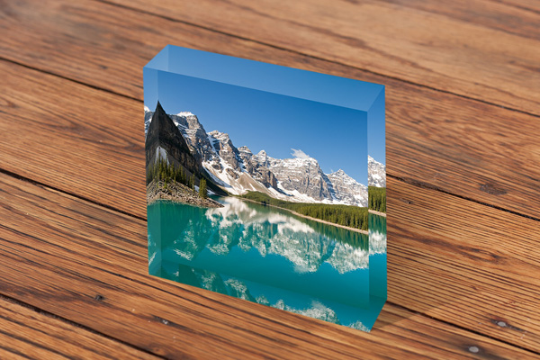 Escape Images Acrylic Block