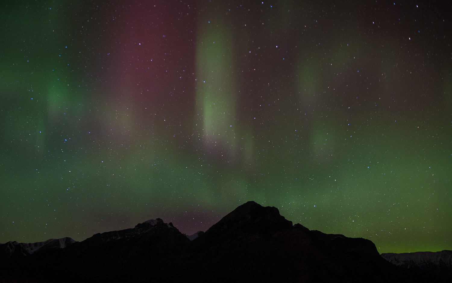 Northern Lights over Banff